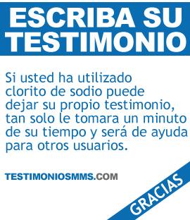 Testimonios MMS y CDS